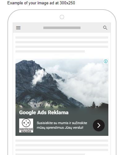 responsive google ads mobile